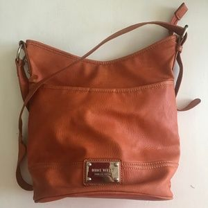 Nine West Burnt Orange Crossbody Purse